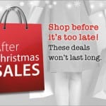 After-Christmas Sales Bigger Than Ever