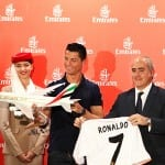 Cristiano Ronaldo and Pelé join forces with Emirates