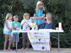 Gwyneth Paltrow with kids