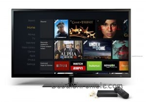 Amazon Fire TV HomeScreen Front