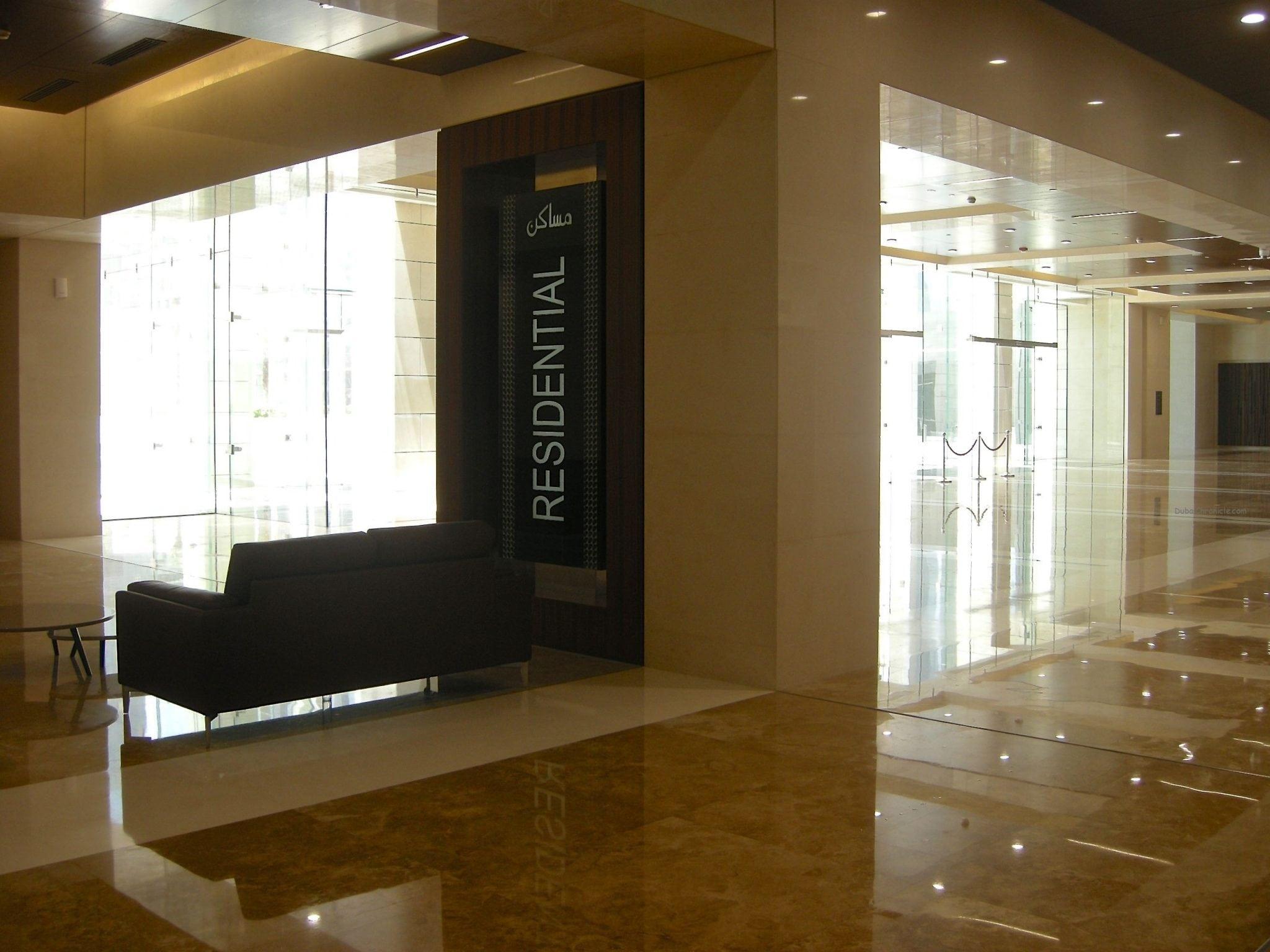 Burj Daman Residential Lobby