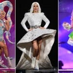 Highlights from Lady Gaga Concert in Dubai