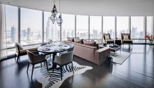 Burj Khalifa Living Dinning