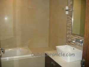 Bathroom Burj Daman Duplex DIFC Dubai