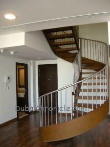 Burj Daman Duplex Staircase