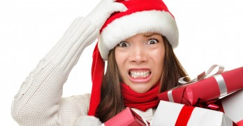 woman-christmas-presents-stressed