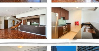 2 Bedroom Duplex Burj Daman Dubai