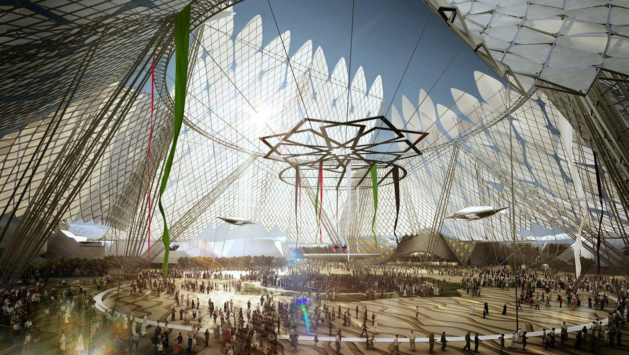 Architectural Impression of Al Wasl Plaza Dubai Expo 2020