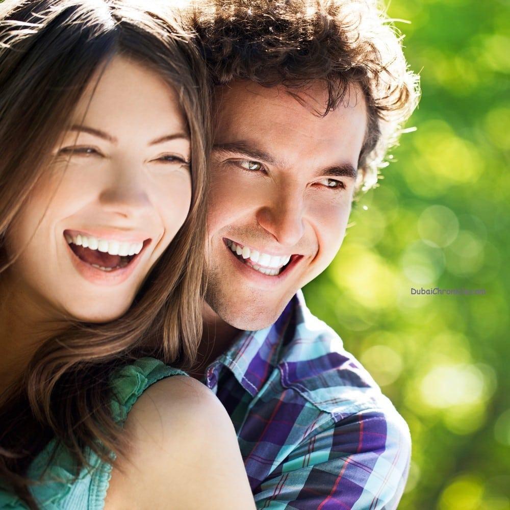 smile couple