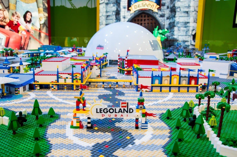 Brick by brick ATM brings LEGOLAND® Dubai to life