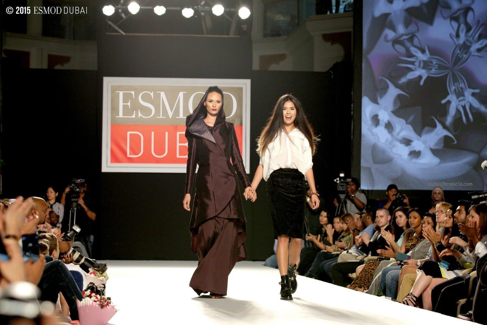 ESMOD Dubai 2015 Fashion Show - Walaa Alaqra