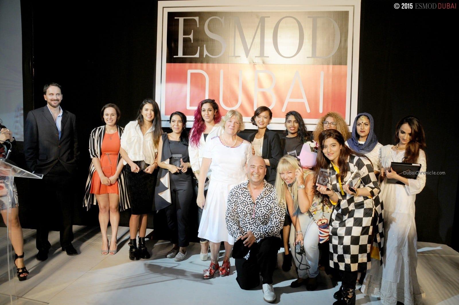 ESMOD Dubai 2015 Fashion Show - fashion graduates
