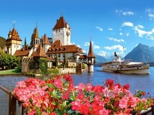 Oberhofen-Castle-Switzerland