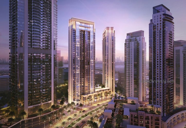 'Creekside 18' residences community in The Island District of Dubai Creek Harbour