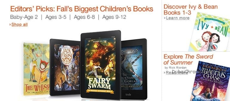 E-Books for Kids: A great way to make them read