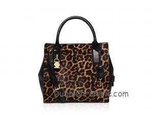 MICHAEL Michael Kors McKenna Cheetah Calf Hair Medium Satchel