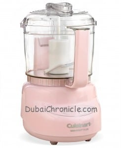 Cuisinart DLC-2A Food Processor, Mini Prep Plus Pink Collection