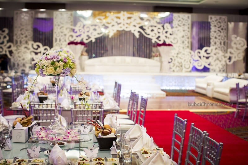 Jumeirah Creekside Hotel - Weddings - Ballroom setup