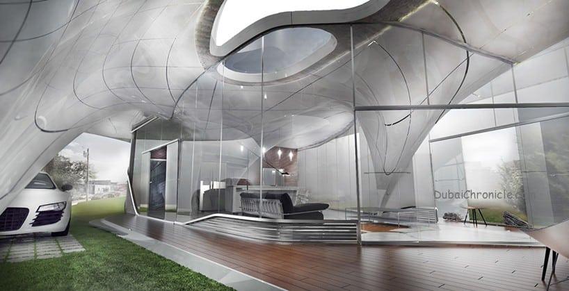 freeform 3D printed house 2
