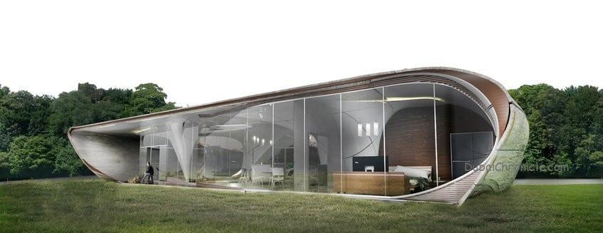 freeform 3D printed house
