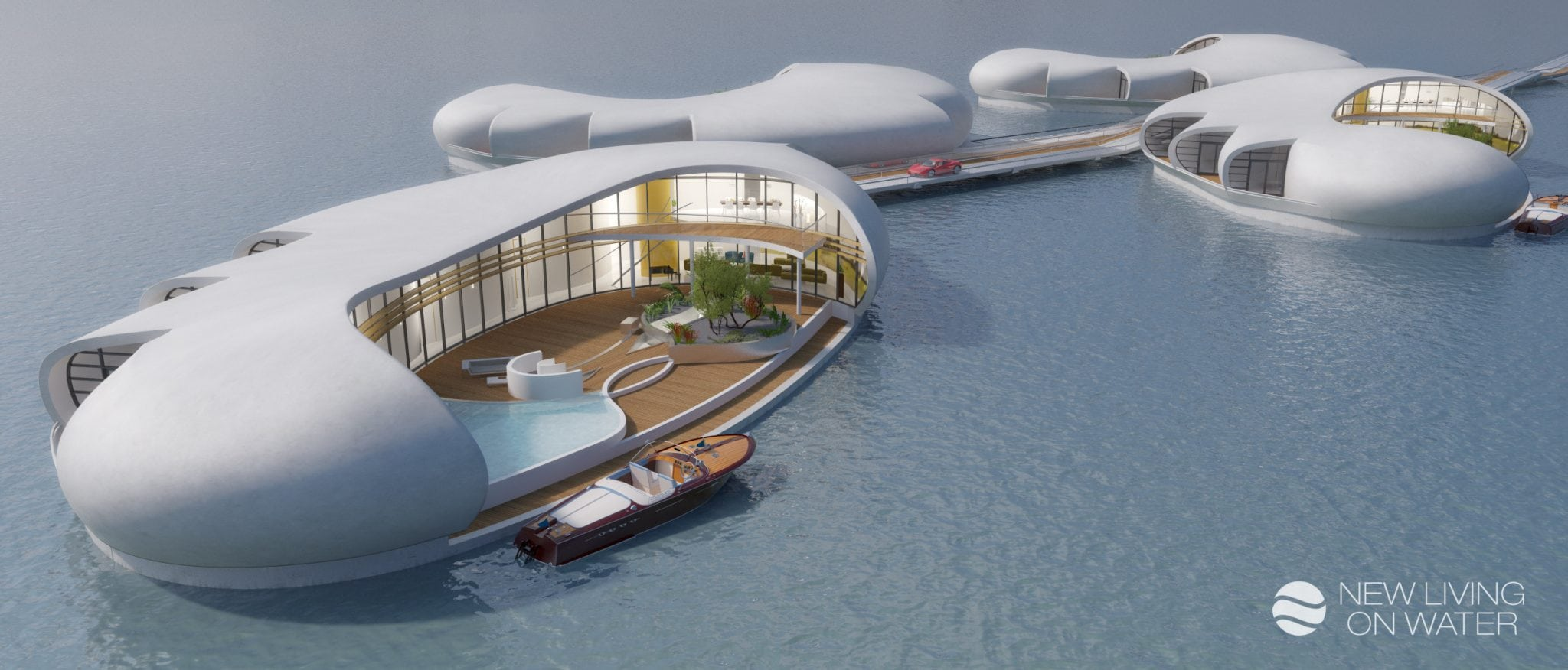 New Living on Water_Floating residences_Connected units