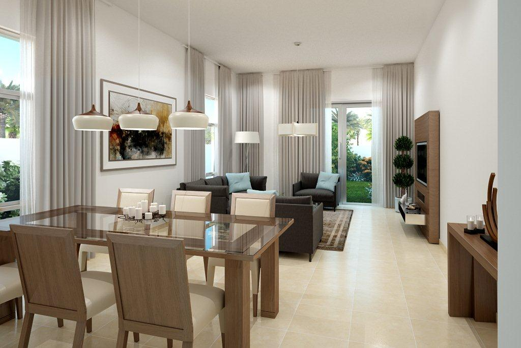 Type 3E - Living and Dining Room