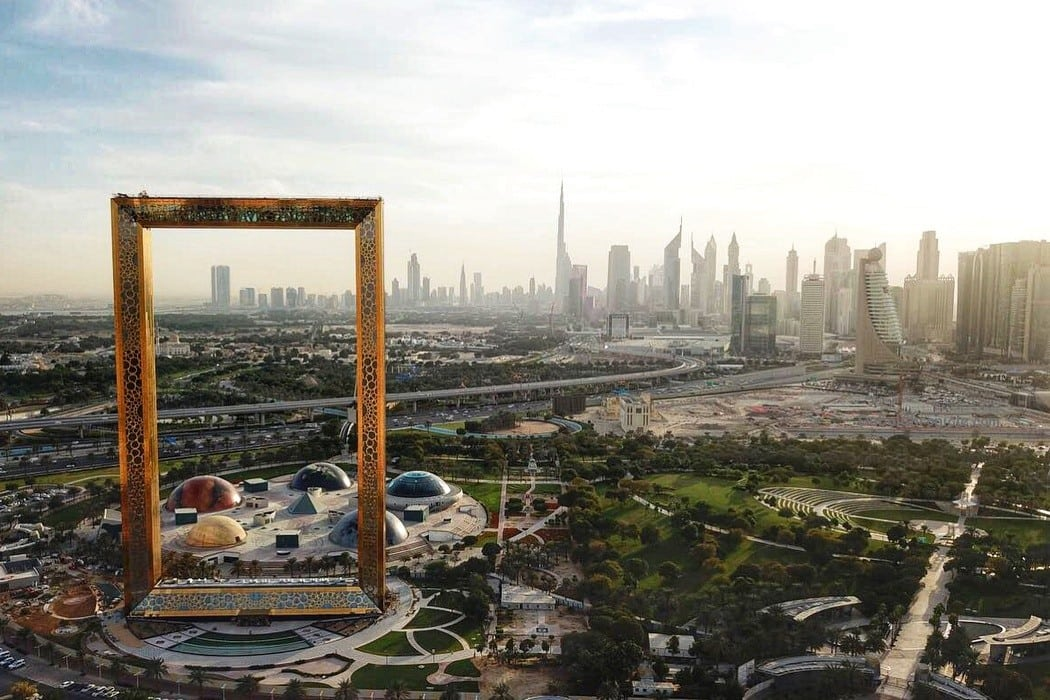 Dubai Frame Named 2017's Most Significant Architectural Landmark - Dubai Chronicle