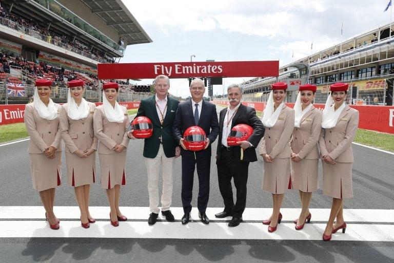 Emirates and Formula 1® Renew Global Partnership