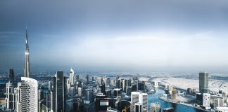 Downtown Dubai Cityscape