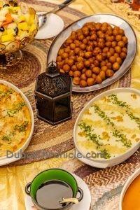 Palazzo Versace Hotel Ramadan meal