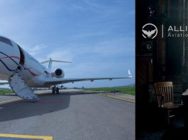 luxury private jet by alliance jet