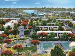 Aerial View of Majid Al Futtaim Communities