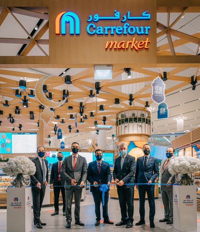 Carrefour – owned and operated by Majid Al Futtaim in the UAE – has opened a new store at the world's busiest international airport, DXB.