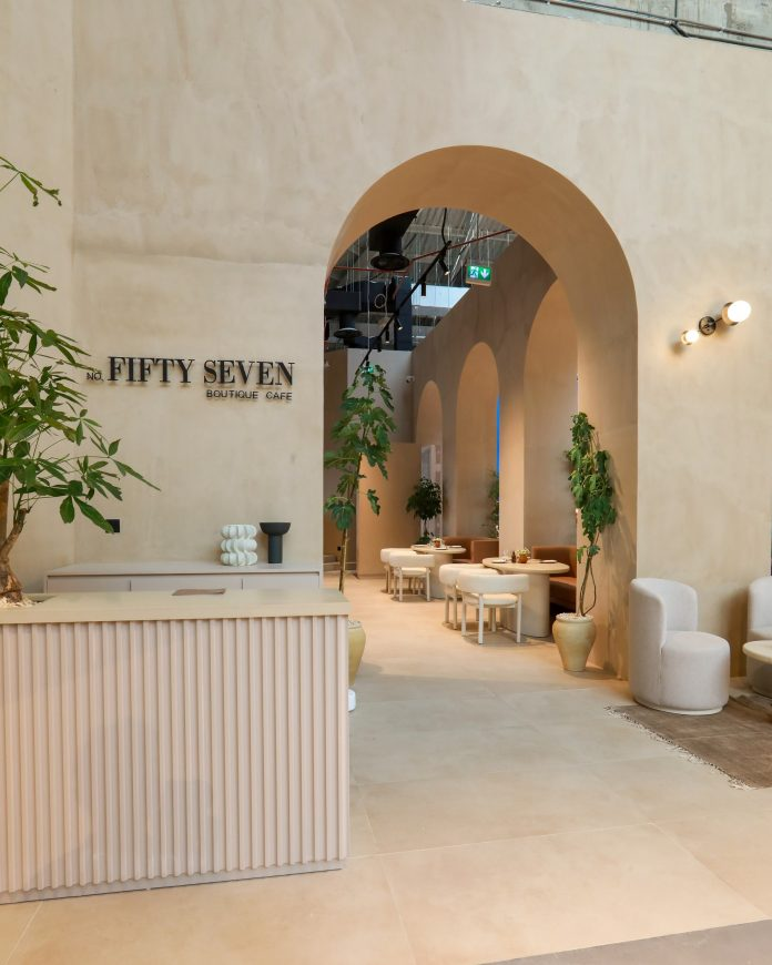 No. FiftySeven Boutique Café at Mall of the Emirates