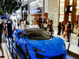Lucky Shoppers At The Dubai Mall Win Fenyr Supersport Car And One Million Skywards Miles