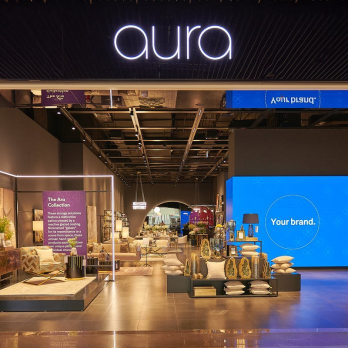 On June 1st, 2021, Saudi home furnishing brand, aura Living, opened its newest store at The Dubai Mall.