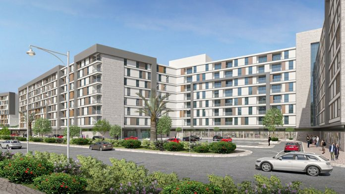 The preliminary construction works for its latest real estate project,