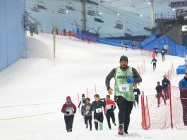 DXB Snow Run, Dubai Sports Council and Majid Al Futtaim are back, promising more thrills and chills when the second edition of the novel run.