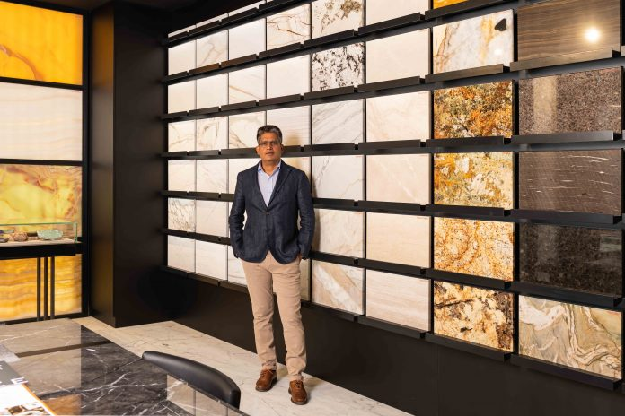 Umesh Punia_CEO, Glaze Marble & Granite, distributor ofCaesarstoneQUARTZsurfaces.