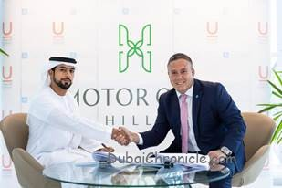"""Union Properties PJSC signed an investment agreement with the leading real estate company AQUA Properties to launch """"Motor City Hills""""."""